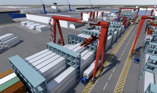 Kloosterboer bouwt reefer containerterminal in Vlissingen
